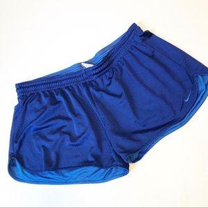 Nike Blue Mesh Training Shorts Sz XL